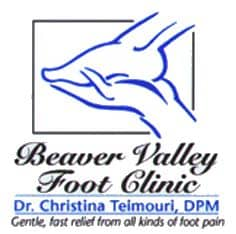 BVFC, Beaver Valley Foot clinic, logo, foot issues, foot pain, diabetes foot problems