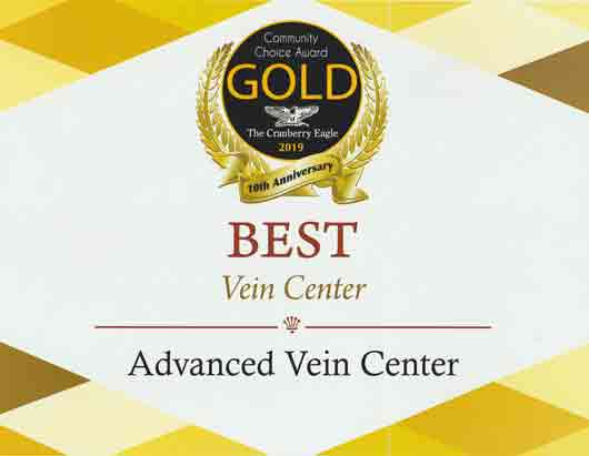 Cranberry eagle best vein center Advanced Vein Center