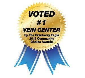 Advanced vein center cranberry eagle award